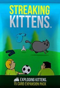 Exploding Kittens : Streaking Kittens Expansion